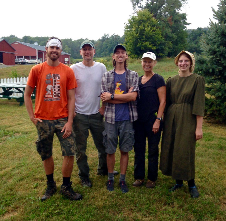Horn Farm Interns 2016
