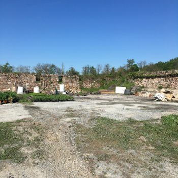 bank barn foundation