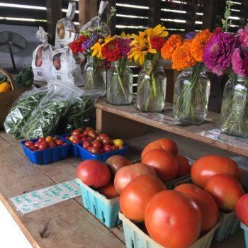 Horn Farm farm stand 2017