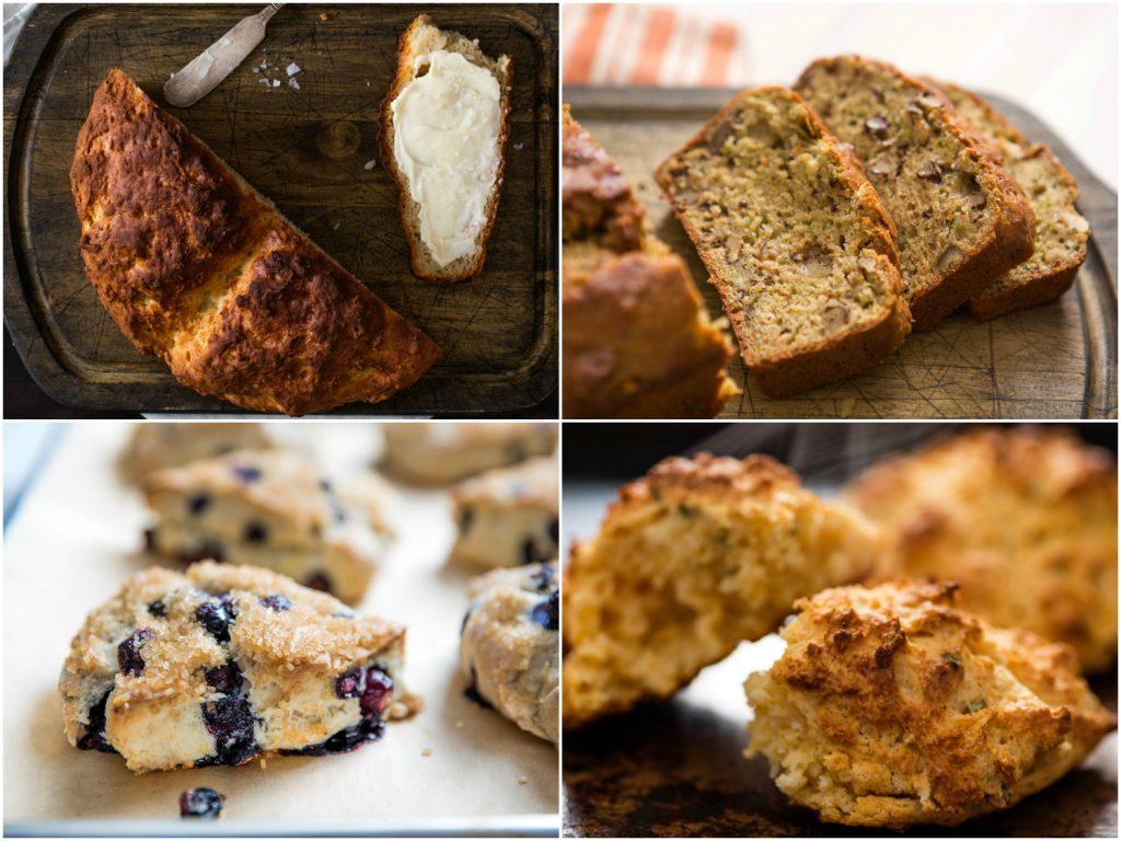 quick breads assortment